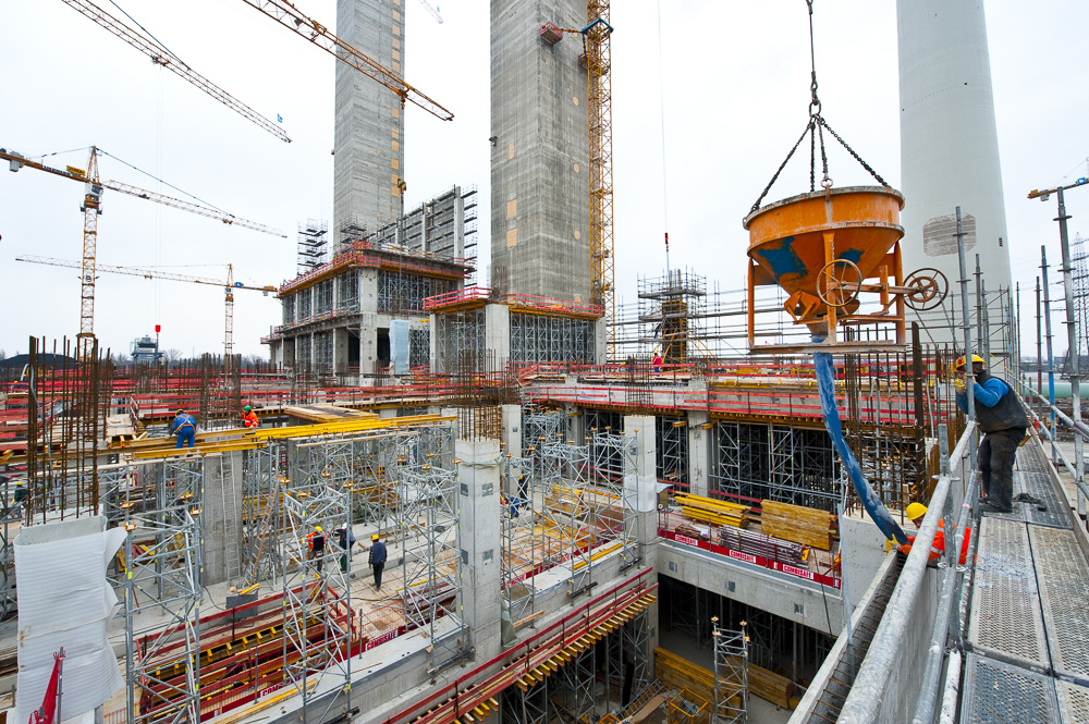 Phototographe chantier btp construction - EDF