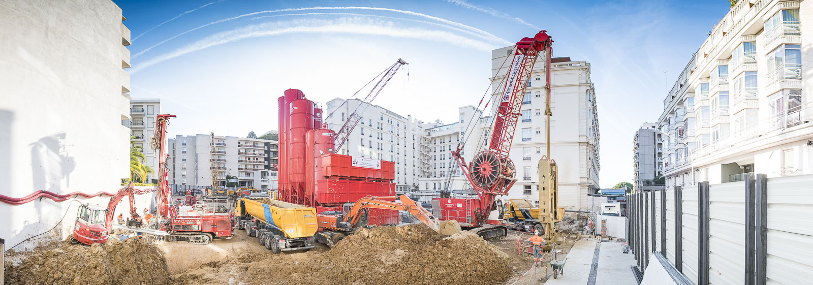 Photographe chantier btp construction